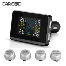Careud U906 Wireless Auto Car Vehicle TPMS Tire Pressure Monitoring System