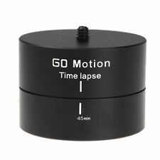 360° Panoramic Rotating Time Lapse Stabilizer Tripod Adapter Gopro DSLR Camera