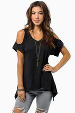 Sexy Fashion Women Summer Tank Loose Short Sleeve T-Shirt Casual Tops Blouse XL