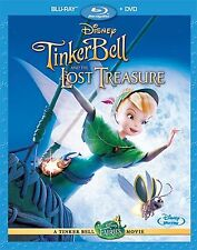 Tinker Bell and the Lost Treasure Blu-ray & DVD 2009 - Brand New - Fast Shipping