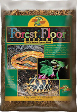 Zoo Med Forest Floor Bedding 4 Quarts Natural Cypress Mulch Pet Supply