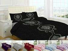 Polycotton Printed Duvet Quilt Covers Bedding Set with Pillowcases