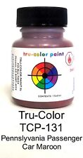 Tru-Color TCP-131 PRR Pennsylvania Passenger Maroon 1 oz Paint Bottle