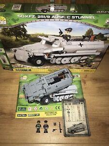 Cobi 2526. Sd.kfz. 251/9 Ausf. C Stummel. Complete