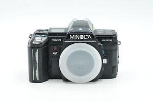 Minolta Maxxum 7000 SLR Film Camera Body #654