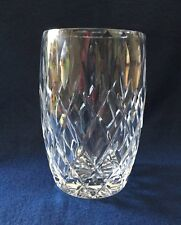 "Vintage Royal Brierley • England • Clear Cut Crystal Glass 5 3/4"" Vase • Mint"
