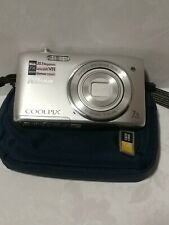 Nikon COOLPIX S3500 20.1MP Digital Camera-7x wide optical zoom +case