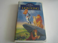 VHS A Walt Disney Masterpiece The Lion King