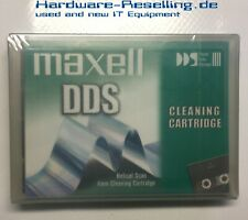 Maxell 4mm DDS Dat Tape Head Cleaning Cartridge -
