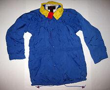 Vintage Eddie Bauer Gore-Tex Blue Red Yellow Mens Jacket Sailing Windbreaker