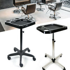 Salon Beauty Trolley Cart Beauty Hair Dryer Stylist Tools Barber Equipment Tray