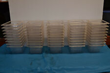 True Brand Clear Food Pans 16 Size X 4 Inches 162 Quart 9 Pan Set