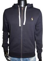Ralph Lauren Polo Herren Sweater Kapuzenpullover Hoodie Zipper navy Neu OVP