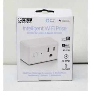Feit Electric Smart Wi-Fi Plug 3 Pack New in Box