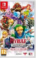 Hyrule Warriors Definitive Edition Nintendo Switch Official UK