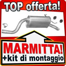 Scarico FIAT IDEA LANCIA MUSA & YPSILON 1.4 57/66/70KW dal 2003 Marmitta BCT