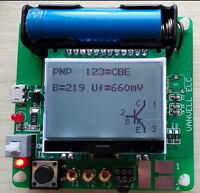 2020 newest big LCD inductor-capacitor ESR meter DIY MG328 multifunction test