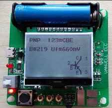 2017 newest big LCD inductor-capacitor ESR meter DIY MG328 multifunction test