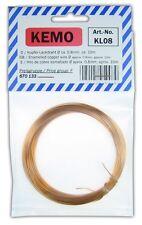 S705 fil de cuivre émaillé 0,8mm 10m Fil de bobinage émaillé CU - fil