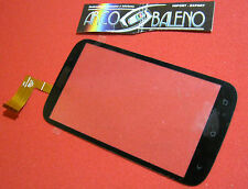 VETRO+TOUCH SCREEN ORIGINALE per HTC DESIRE X T328E LCD DISPLAY VETRINO NERO