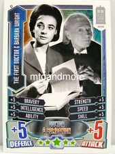#C01 The First Doctor & Barbara Wright - Alien Attax Doctor Who - 50th Anni