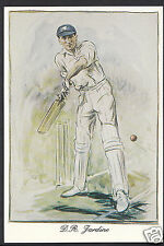 Sports Postcard - Cricket - Douglas Jardine - Surrey & England   DP3