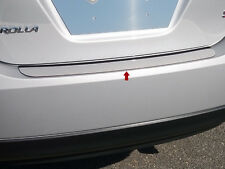 2014 2015 TOYOTA COROLLA 1PC STAINLESS STEEL REAR BUMPER TRIM