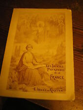 Lessaintes patrone de France Jeanne d'arc Marie Madeleine Odile Marguerite etc