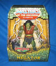 "MASTERS OF THE UNIVERSE MOTU CLASSICS MEGATOR 12"" FIGURE NEW"