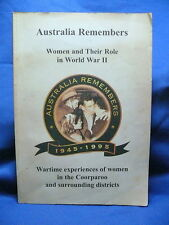 Women and Their Role in WWII Coorparoo Brisbane History