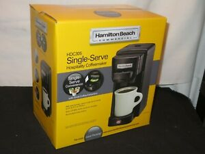 NEW Hamilton Beach Single-Serve Single Cup Brewer K-Cup Coffee Maker HDC305