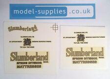 Dinky 514 Guy Van Slumberland Reproduction Waterslide Transfer Set