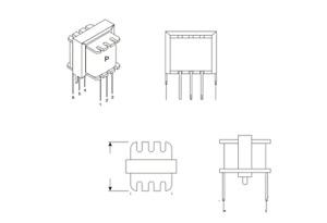 42TM006-RC (10 Piece Lot) Audio Transformer