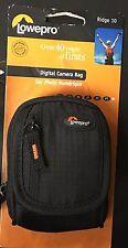 New Lowepro RIDGE 10 Camera Bag - Black Xmas No Tax Free Shipping Wow Hot