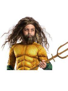 DC Comics - Aquaman Child & Adult Wig/Mustache/Beard Set - Rubie's
