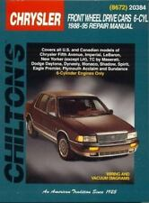 Chrysler Front-Wheel Drive Cars, 6 Cylinder, 1988-95 (Chilton's Total Car Care