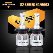 AUXBEAM H4 9003 HB2 3Side 72W 8000LM LED Headlight Kit Bulbs 6500K High Low Beam
