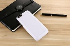 External Power Bank Pack Backup Battery Charger Case Cover For iPhone 5 C 6 Plus