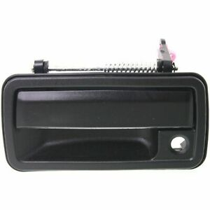 NEW LH Driver Outside Front Door Handle Black for 98-05 S10 BLAZER JIMMY SONOMA