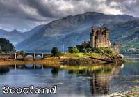 SCOTLAND UK TRAVEL SOUVENIR FRIDGE MAGNET #fm260