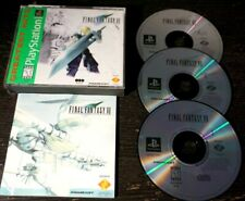 Final Fantasy 7 Vii Ps1 Playstation 1 Complete