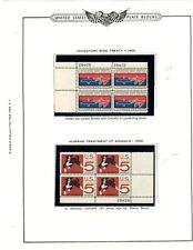 US plate blocks 1966  1306-17
