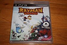 Brand New Factory Sealed PS3 Rayman Origins SHIP FREE US FAST