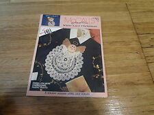 """McCall's Creates No. 14277 """"White Lace Christmas"""" Sewing How-to Pamplet"""