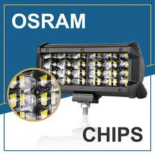 7in 240W LED Light Bar Work Pod 8D Spot Combo Driving Fog Lamp Offroad Truck ATV