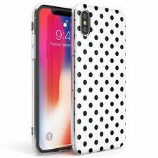 Designer Cool White Polka Dot Slim Phone Case for iPhone | Fashion Cute Trending