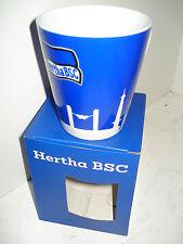 Mega-Sonderpreis! Porzellantasse/Becher Fahne pur Skyline Hertha BSC Fussball