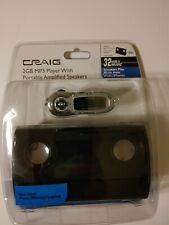 Craig  (2 GB) MP3 Player With Portable Speakers