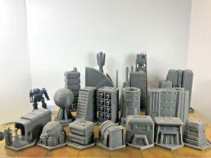 BattleTech/CityTech - Mapscale Buildings - Hostile Environment Set