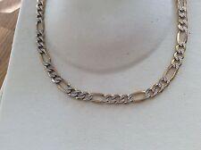 "9ct Gold Solid 20"" Figaro neckchain"